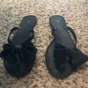 Dizzy Sandals black bow